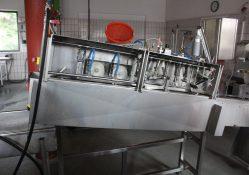 Eine Filetiermaschine